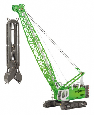 ROS Sennebogen 690 HD with Diaphragm Wall grab